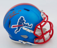 Josh Allen Signed Bills Speed Mini Helmet (Beckett COA) at PristineAuction.com