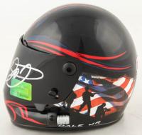 Dale Earnhardt Jr. Signed NASCAR #88 National Guard Mini-Helmet (Dale Jr. Hologram & COA) at PristineAuction.com