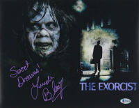 """Linda Blair Signed """"The Exorcist"""" 11x14 Photo Inscribed """"Sweet Dreams!"""" (Beckett COA) at PristineAuction.com"""