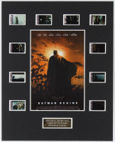 """Batman Begins"" LE 8x10 Custom Matted Original Film / Movie Cell Display at PristineAuction.com"