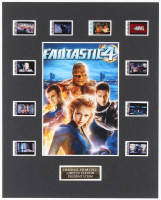"""Fantastic 4"" LE 8x10 Custom Matted Original Film / Movie Cell Display at PristineAuction.com"