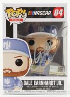 """Dale Earnhardt Jr. Signed NASCAR - """"Nationwide Insurance"""" #04 Funko Pop! Vinyl Figure (Dale Jr. Hologram & COA) (See Description) at PristineAuction.com"""