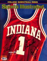 "1979 ""Sports Illustrated"" Magazine Cover Signed By (4) with Scott May, Kent Benson, John Laskowski & Quinn Buckner (Beckett COA) at PristineAuction.com"