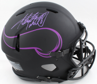 Adrian Peterson Signed Vikings Full-Size Authentic On-Field Eclipse Alternate Speed Helmet (Beckett COA) at PristineAuction.com