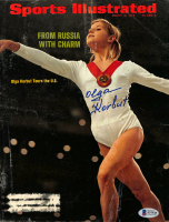 Olga Korbut Signed 1973 Sports Illustrated Magazine Cover (Beckett COA) at PristineAuction.com