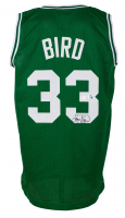 Larry Bird Signed Jersey (Beckett COA & Bird Hologram) at PristineAuction.com