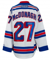 Ryan McDonagh Signed Rangers Captain Jersey (Fanatics Hologram & Steiner Hologram) at PristineAuction.com