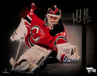 Martin Brodeur Signed Devils 8x10 Photo (Fanatics Hologram) at PristineAuction.com