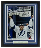 Steven Stamkos Signed Lightning 22x27 Custom Framed Photo Display (Fanatics Hologram) at PristineAuction.com