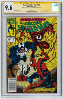 "Stan Lee & Mark Bagley Signed 1992 ""The Amazing Spider-Man"" Issue #362 Marvel Comic Book (CGC 9.6) at PristineAuction.com"