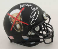"Robert O'Neill Signed ""Osama Bin Laden"" Custom Matte Black Mini Helmet Inscribed ""Never Quit!"" (PSA COA) at PristineAuction.com"