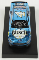 Kevin Harvick Signed 2020 NASCAR #4 Buschhhhh Beer - 1:24 Premium Action Diecast Car (PA COA) at PristineAuction.com