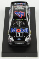 Kevin Harvick Signed 2019 NASCAR #4 Mobil 1 - Indy Win - Raced Version - 1:24 Premium Action Diecast Car (PA COA) at PristineAuction.com