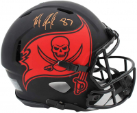Rob Gronkowski Signed Buccaneers Full-Size Authentic On-Field Eclipse Alternate Speed Helmet (Radtke COA) at PristineAuction.com