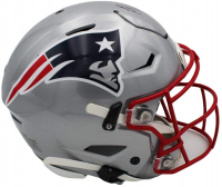 Rob Gronkowski Signed Patriots Full-Size Authentic On-Field SpeedFlex Helmet (Radtke COA) at PristineAuction.com