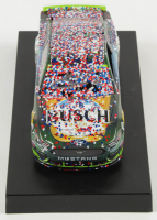 Kevin Harvick Signed 2019 NASCAR #4 Busch Beer / Ducks Unlimited - Texas Win - Raced Version - 1:24 Premium Action Diecast Car (PA COA) at PristineAuction.com