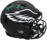 Zach Ertz Signed Eagles Full-Size Authentic On-Field Eclipse Alternate Speed Helmet (Radtke COA) at PristineAuction.com