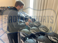 Zach Ertz Signed Eagles Full-Size Authentic On-Field Eclipse Alternate Speed Helmet (Radtke COA) at PristineAuction.com