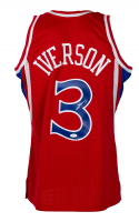 Allen Iverson Signed 76ers Mitchell & Ness Jersey (JSA COA) at PristineAuction.com