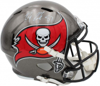 Rob Gronkowski Signed Buccaneers Full-Size Speed Helmet (Radtke COA) at PristineAuction.com