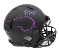 Brett Favre Signed Vikings Full-Size Authentic On-Field Eclipse Alternate Speed Helmet (Radtke COA) at PristineAuction.com