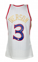 Allen Iverson Signed 76ers Jersey (JSA COA) at PristineAuction.com