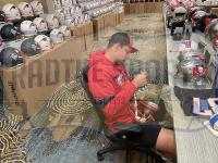 Rob Gronkowski Signed Patriots Full-Size Authentic On-Field Camo Alternate Speed Helmet (Radtke COA) at PristineAuction.com