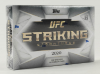 2020 Topps UFC Striking Signatures Hobby Box at PristineAuction.com