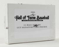 2020 Leaf Hall Of Fame Baseball Cut Signature Hobby Box at PristineAuction.com