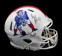 Rob Gronkowski Signed Patriots Full-Size Authentic On-Field Speed Helmet (Radtke COA) at PristineAuction.com