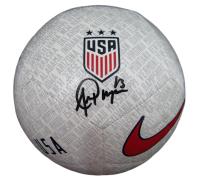 Alex Morgan Signed Team USA Logo Nike Soccer Ball (JSA COA) at PristineAuction.com