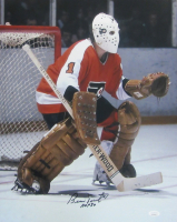 "Bernie Parent Signed Flyers 16x20 Photo Inscribed ""HOF 84"" (JSA COA) at PristineAuction.com"