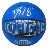 Dwight Howard Signed Magic Logo Basketball (Beckett COA) at PristineAuction.com