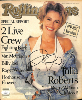 Julia Roberts Signed 1990 Rolling Stone Magazine (JSA COA) at PristineAuction.com