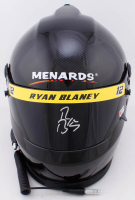 Ryan Blaney Signed NASCAR Menards Full-Size Helmet (PA COA) at PristineAuction.com