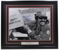 Richard Petty Signed 22x27 Custom Framed Photo Display (JSA COA) at PristineAuction.com