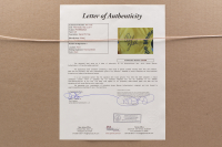Phil Mickelson Signed Memorial Tournament 20x30 Custom Framed Golf Flag Display (JSA LOA) at PristineAuction.com