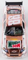 Dale Earnhardt Jr. Signed 2008 NASCAR #88 Mountain Dew Retro - Brushed Copper - 1:24 Premium Action Diecast Car (Dale Jr. Hologram & COA) at PristineAuction.com