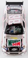 Dale Earnhardt Jr. Signed 2008 NASCAR #88 Mountain Dew Retro - Nickel Plated - 1:24 Premium Action Diecast Car (Dale Jr. Hologram & COA) at PristineAuction.com