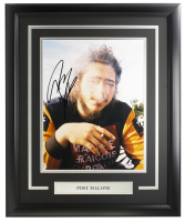 Post Malone Signed 16x20 Custom Framed Photo Display (PSA COA) at PristineAuction.com