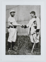 Larry Lajoie & Honus Wagner 10.5x14 LE Giclee on Canvas at PristineAuction.com