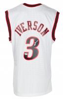 Allen Iverson Signed 2000-01 76ers Jersey (PSA COA) at PristineAuction.com