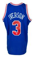 Allen Iverson Signed 1996-97 76ers Jersey (PSA COA) at PristineAuction.com
