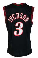 Allen Iverson Signed 76ers Mitchell & Ness Jersey (PSA COA) at PristineAuction.com
