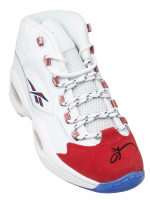 Allen Iverson Signed Reebok Basketball Shoe (PSA COA) at PristineAuction.com