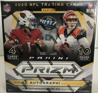 2020 Panini Prizm Football Wal-Mart Mega Box with (10) Packs at PristineAuction.com