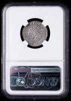 1540 Sigismund I Poland, Elbing 1 Grosch Medieval Silver Coin (NGC AU Details) at PristineAuction.com