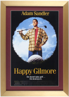 """Happy Gilmore"" 15x21 Custom Framed Poster Display at PristineAuction.com"