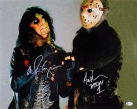 "Alice Cooper & Ari Lehman Signed 16x20 Photo Inscribed ""Jason 1"" (Beckett COA) at PristineAuction.com"