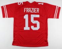 """Tommie Frazier Signed Jersey Inscribed """"94/95 Nat'l Champs!"""" (Beckett COA) at PristineAuction.com"""
